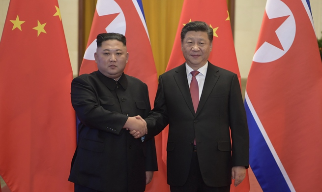 Xinhua Headlines: Xi, Kim hold talks, reaching important consensus