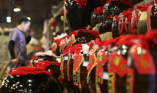 Rice wine brewing industry grows rapidly in Zhangjiajie, central China's Hunan