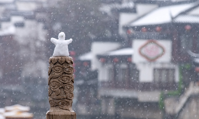 Snow scenery across China