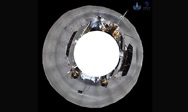 Craters surrounding Chang'e-4 pose challenge to lunar rover