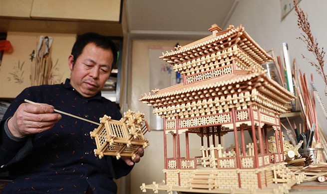 Intangible cultural heritage in China's Hebei: sorghum straw handicrafts