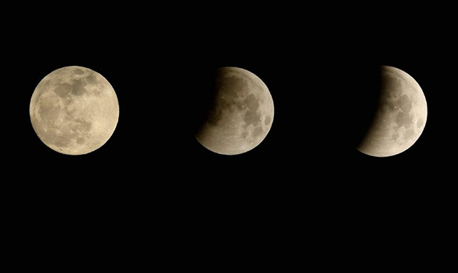 In pics: Lunar eclipse around world