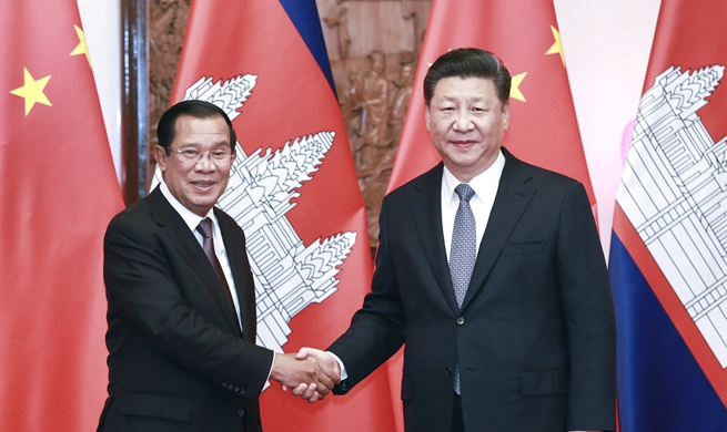 Xi calls for building of China-Cambodia community of shared future