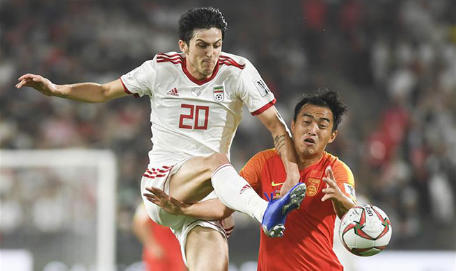 Azmoun leads Iran to reach AFC Asian Cup semis with 3-0 win over China