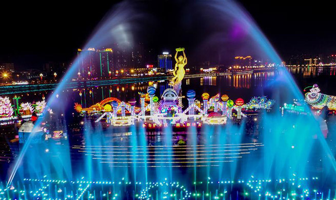 2nd Panda Lantern Festival held in China's Sichuan