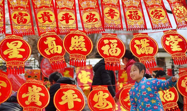Jubilant Spring Festival markets across China