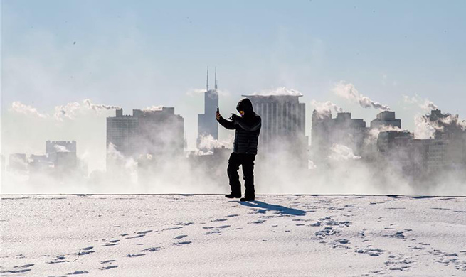 Chicago's record for coldest temperature broken as polar vortex strikes city