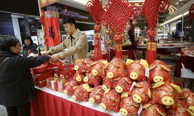 Highlights of Chinese Lunar New Year Flower & Gift Fair in Canada