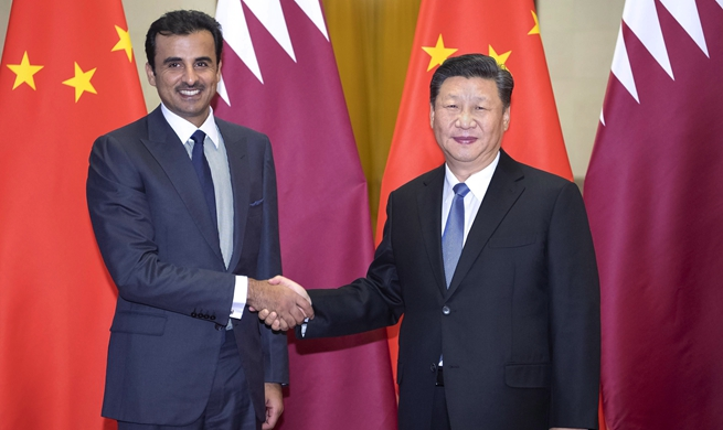 China, Qatar agree to deepen strategic partnership