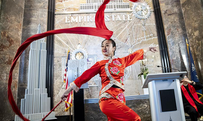NYC's Empire State Building to shine for Chinese New Year