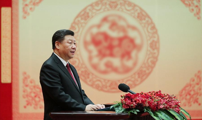 Xi extends Spring Festival greetings to Chinese people