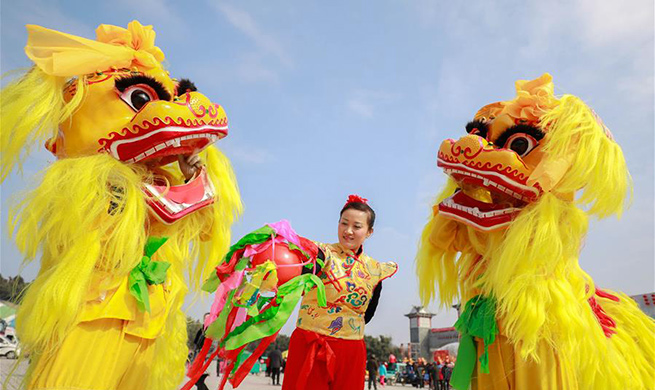 Spring Festival celebrated across China