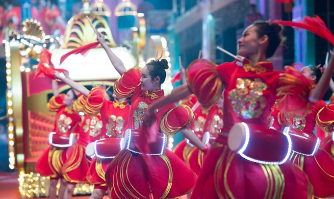 Parade held to celebrate Chinese Lunar New Year in Macao