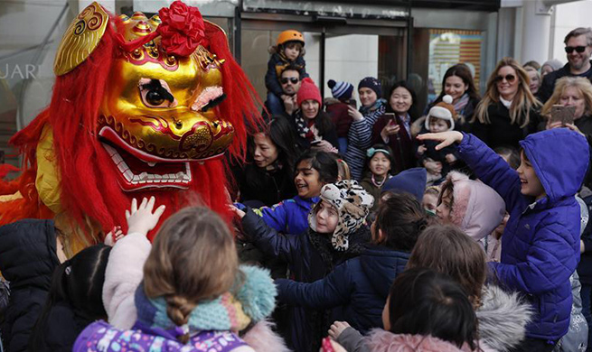 In pics: Chinese New Year celebration at Duke of York Square in London