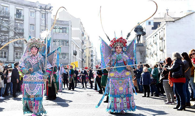 "Highlights of ""Happy Chinese New Year"" celebration in Lisbon"