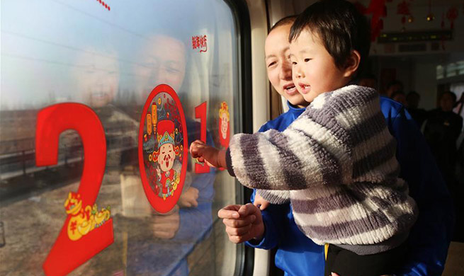 China reports over 60 mln railway trips as holiday ends