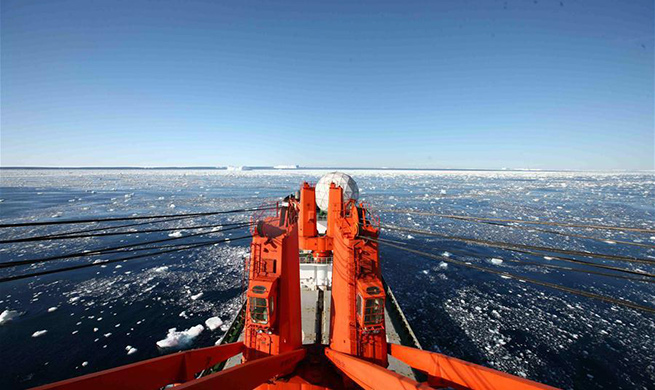 China's research icebreaker Xuelong to arrive in Shanghai in mid-March