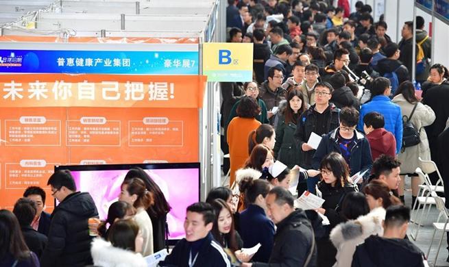 Provincial job fair held in Xi'an