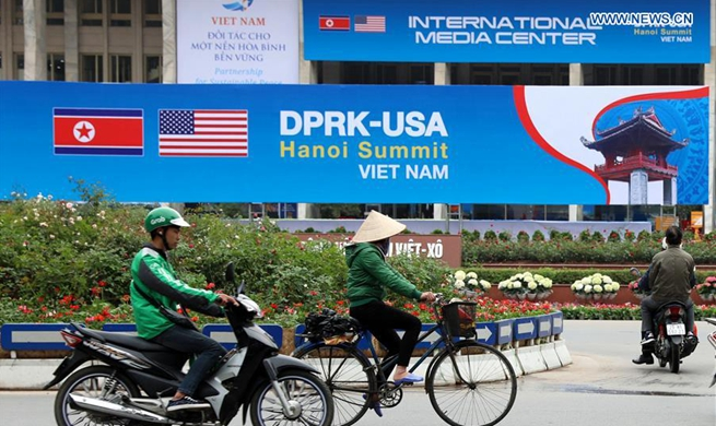 2nd DPRK-U.S. summit to be held in Hanoi on Feb. 27-28