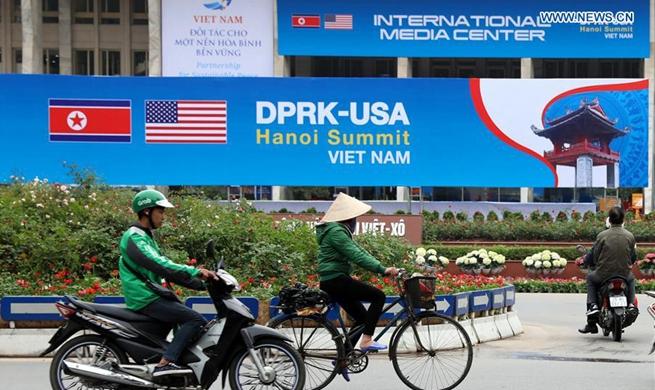 2nd DPRK-U.S. summit to be held in Hanoi on Feb. 27-28