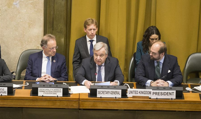 UN's Guterres urges new vision for arms control