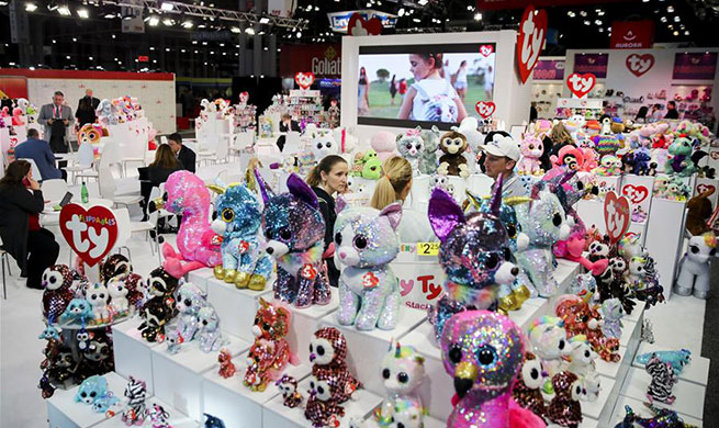 Xinhua Headlines: More fun toys, no painful tariffs: American toymakers hopeful on U.S.-China trade deal