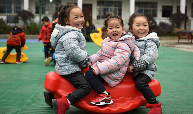In pics: improved life of twin sisters due to poverty alleviation campaign in China's Guizhou