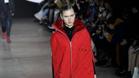 Creation of Shiatzy Chen presented at Paris Fashion Week