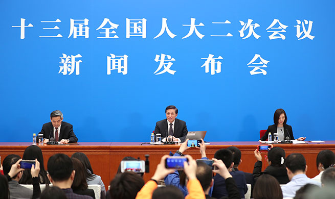 Press conference on agenda of session and work of NPC held in Beijing