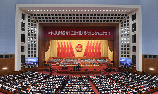 Second session of 13th NPC opens in Beijing