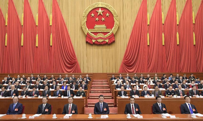 China's national legislature starts annual session