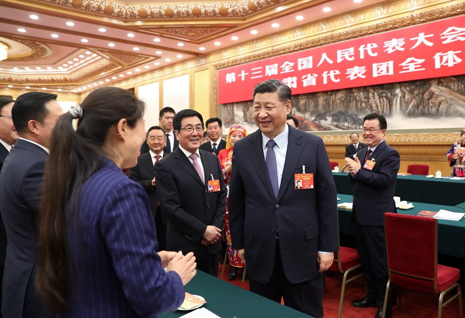 Infographic: Highlights of Xi's remarks when joining deliberation with NPC deputies (March 7)