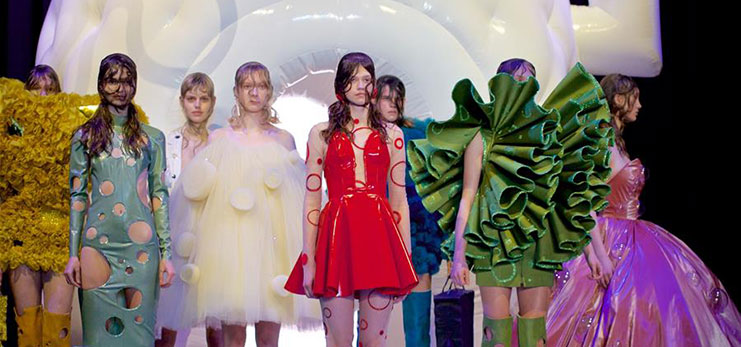 Amsterdam Fashion Week: Spongebob x Marlou Breuls fashion show