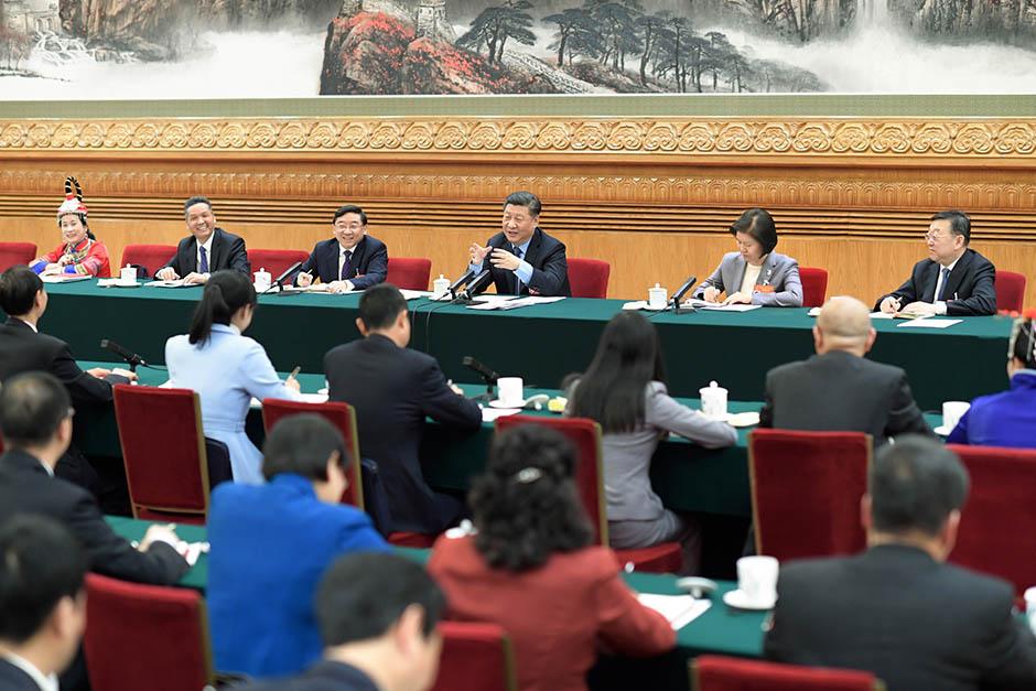 Xi joins deliberation with Fujian deputies at annual legislative session