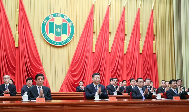 Xi congratulates China Law Society congress