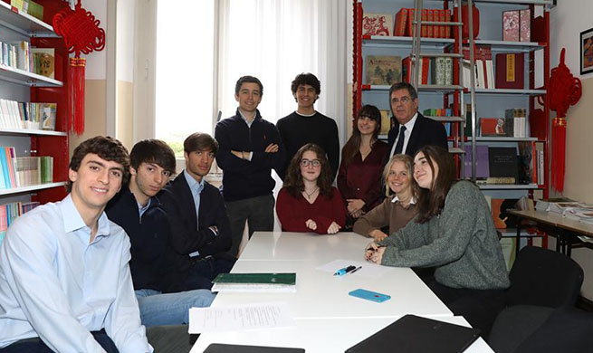 Feature: Italian students encouraged by Xi's letter