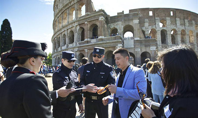 China, Italy carry out joint patrol program during peak travel seasons