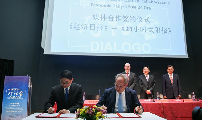 Chinese, Italian media pledge to forge closer ties