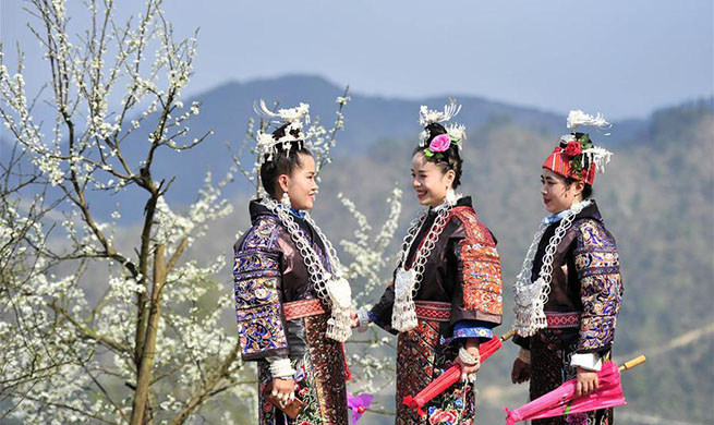 Miao Sisters Festival marked in SW China's Guizhou