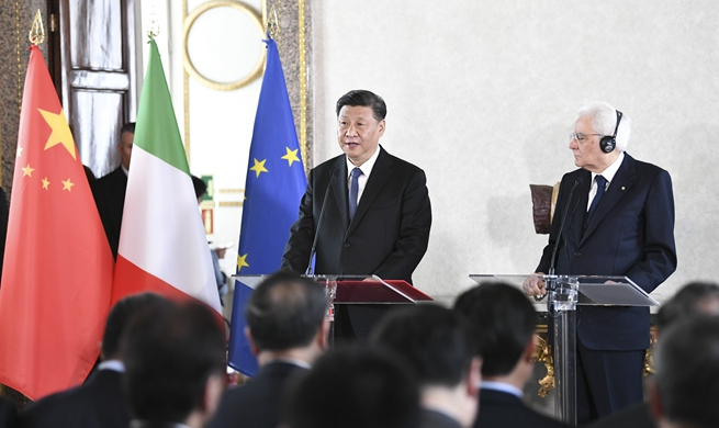 Xi asks business, cultural circles to make more contribution to China-Italy cooperation