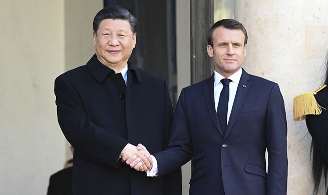 Xi, Macron agree to forge more solid, stable, vibrant China-France partnership