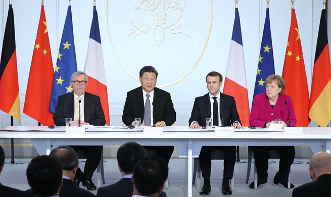 China, France pledge to jointly safeguard multilateralism, improve global governance