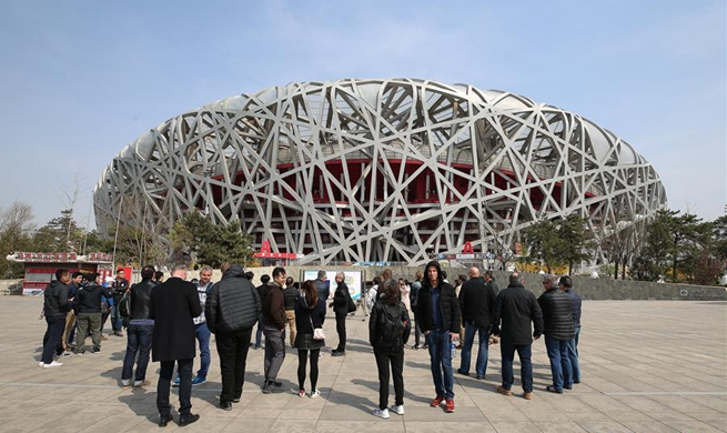 World news agencies visit 2022 Beijing Winter Olympic sites