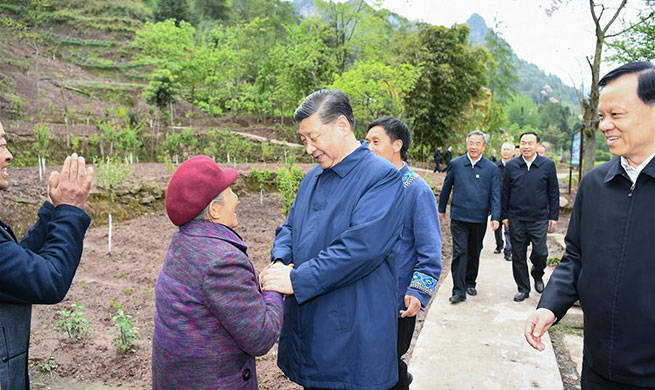 "Xi delivers resolve, confidence at ""critical stage"" of poverty alleviation"