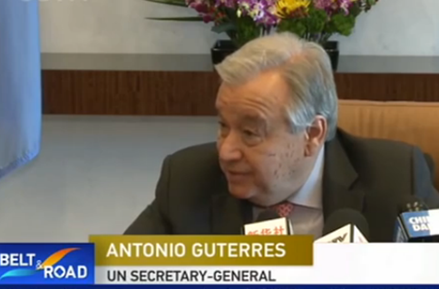 UN chief Guterres hails BRI for helping developing countries