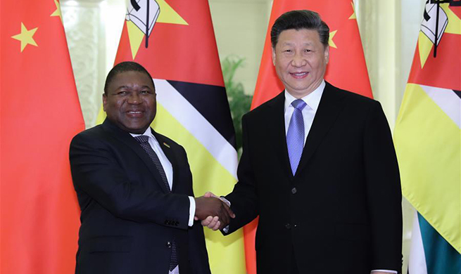 Xi meets Mozambican president