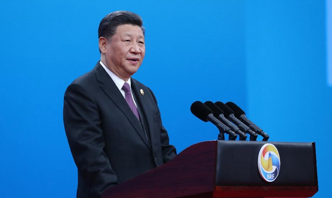 Xi attends opening ceremony of Belt and Road forum
