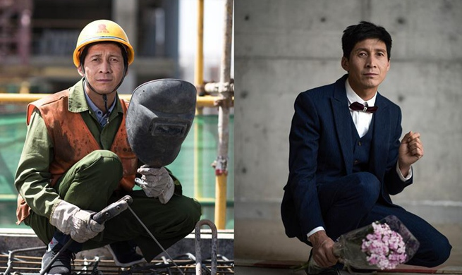 In pics: contrastingly different dress styles of frontline workers
