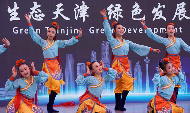 """Tianjin Day"" theme event held at Beijing Int'l Horticultural Exhibition"
