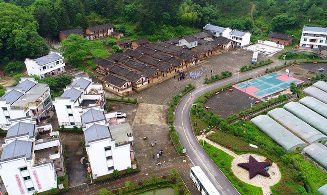 Huawu Village: epitome of changes taking place in Ruijin, China's Jiangxi